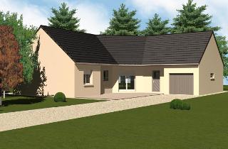 Maison contemporaine avec tuiles ardoise par Bourgogne Bâtir en Saône et Loire
