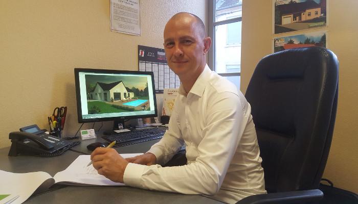 Christophe canard, résponsable de projet de Bourgogne Bâtir, constructeur de maison en Bourgogne