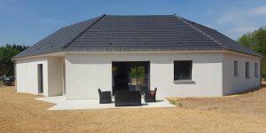 Maison personnalisée construite par Bourgogne Bâtir à Saint Marcel