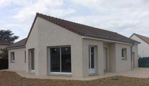 Maison personnalisée construite par Bourgogne Bâtir à Saint Rémy