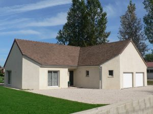 Maison personnalisée construite par Bourgogne Bâtir à Epervans
