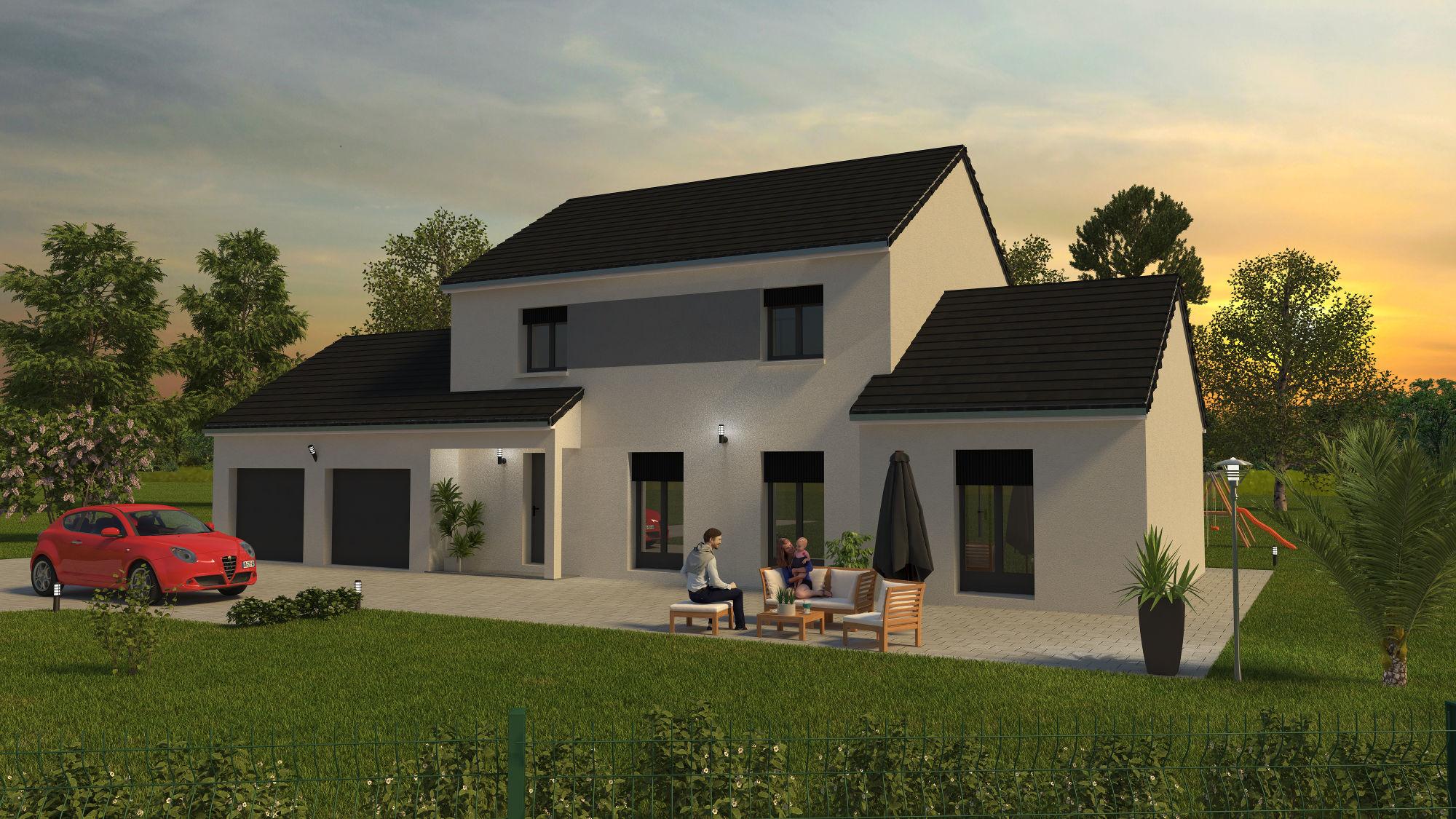 Exemples de projets personnalisés par Bourgogne Bâtir constructeur de maison neuve individuelle en Bourgogne