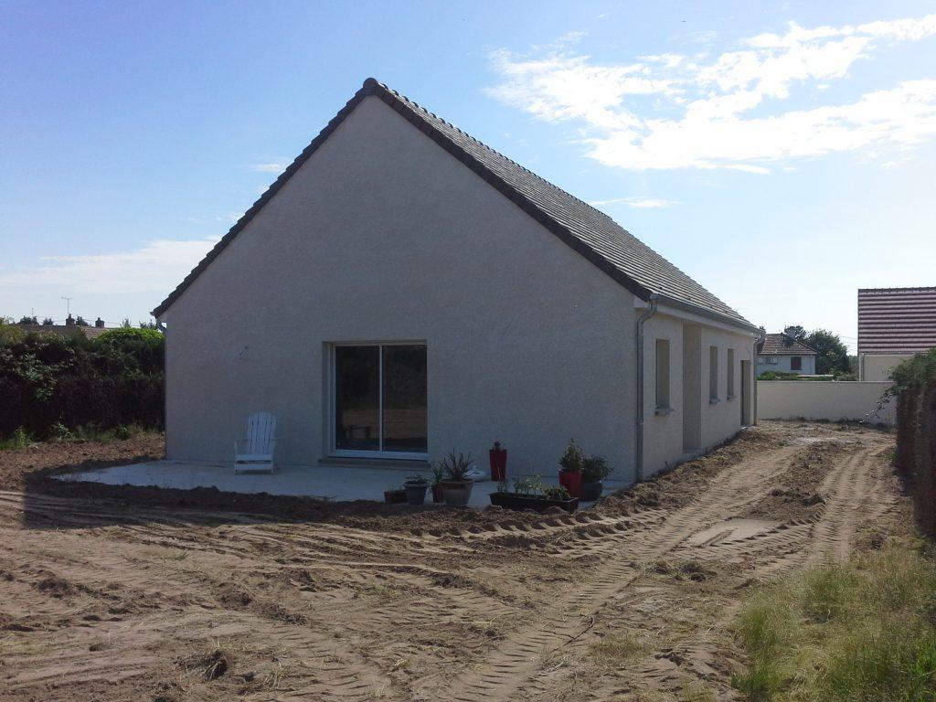 Réception d'une nouvelle construction à Epervans par Bourgogne bâtir