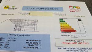 Etude Thermique Bourgogne Bâtir Baudrières