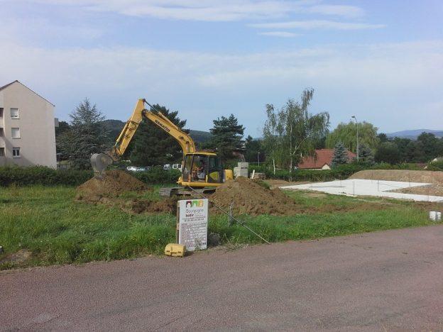 Démarrage d'une nouvelle construction à Autun !