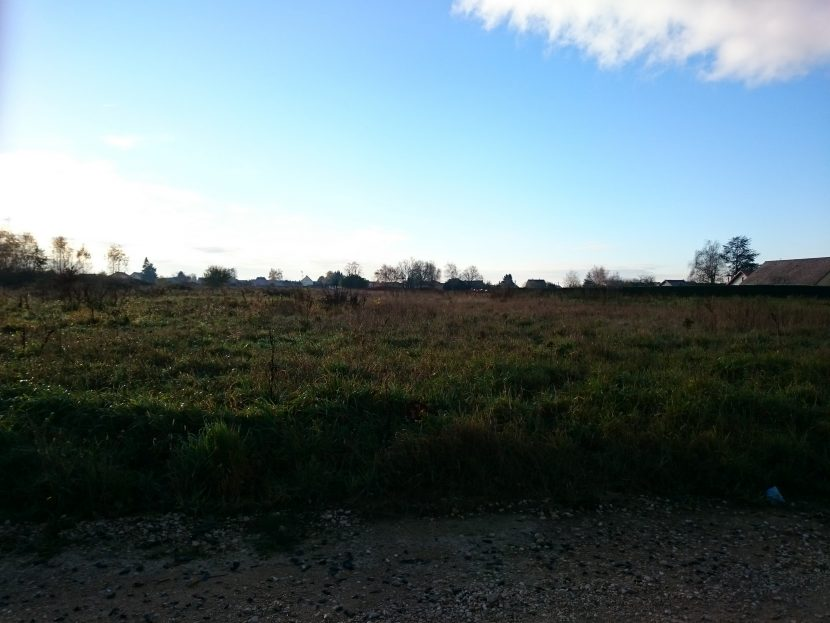 Terrain constructible à Epervans à vendre pour votre projet de construction de maison individuelle neuve RT 2012 avec bourgogne bâtir