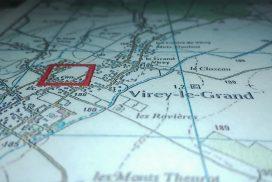 Terrain constructible à Virey le Grand à vendre pour votre projet de construction de maison individuelle neuve RT 2012 avec bourgogne bâtir