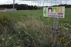 Terrain constructible à Montchanin à vendre pour votre projet de construction de maison individuelle neuve RT 2012 avec bourgogne bâtir