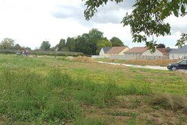 Terrain constructible à Chevigny en Valière à vendre pour votre projet de construction de maison individuelle neuve RT 2012 avec bourgogne bâtir