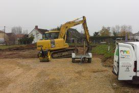 Démarrage d'une nouvelle construction à Ouroux sur Saône !