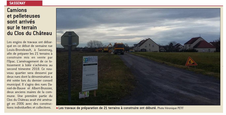 Lancement des r servations des terrains de sassenay for Bourgogne batir