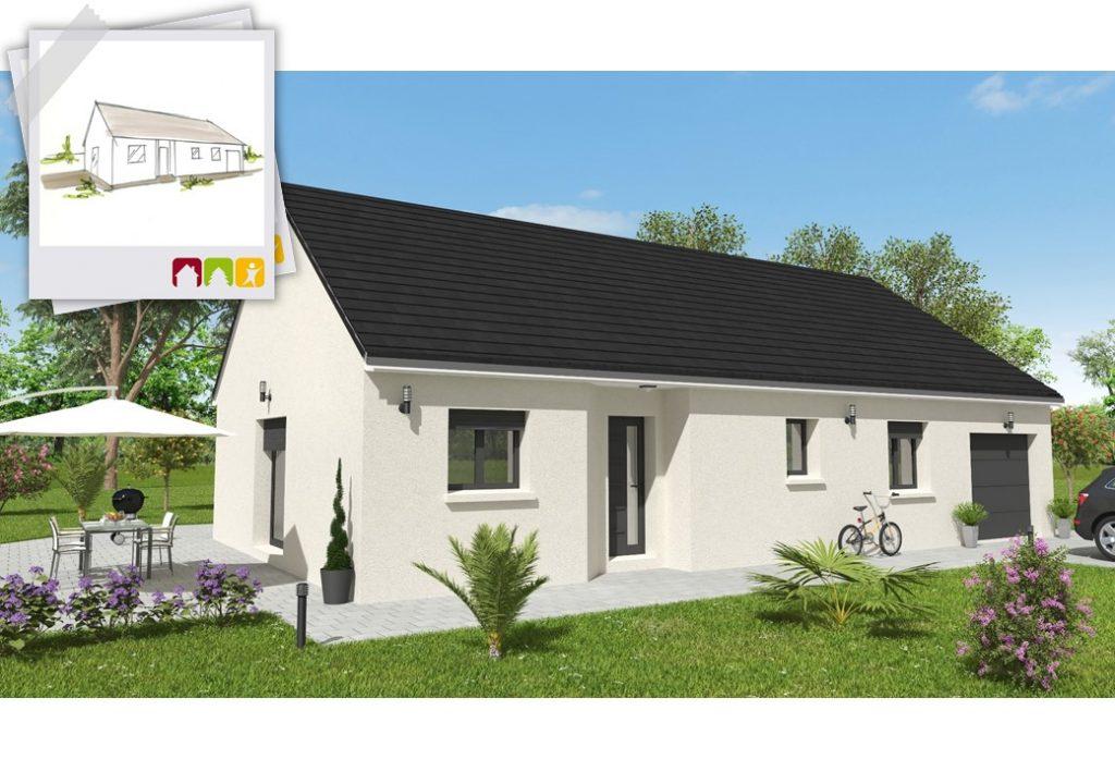 EVASION 4ch - plan maison bourgogne bâtir Saône et Loire Chalon sur Saône