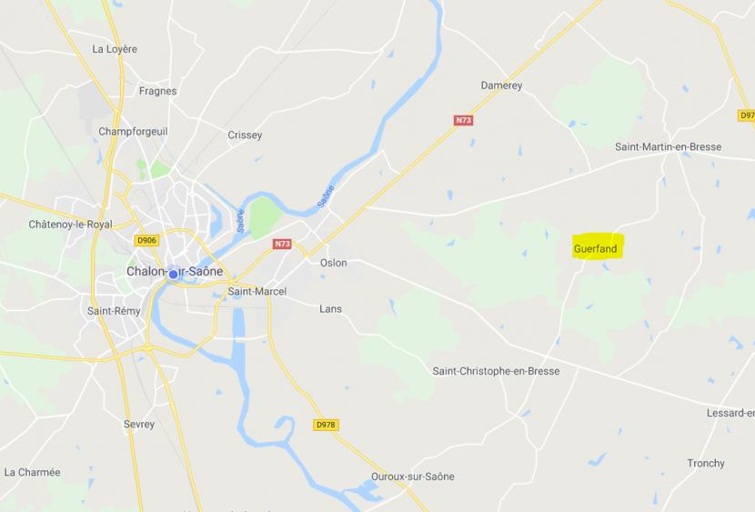 itinéraire Porte ouverte Bourgogne Bâtir à Guerfand proche de Saint Martin en Bresse et Chalon sur Saône en Saône et Loire