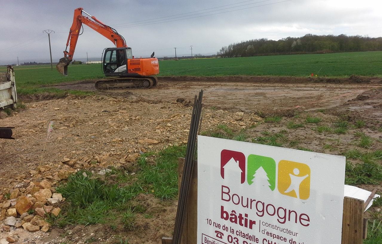 Démarrage Bourgogne Bâtir Chevigny en Valière Bourgogne Bâtir Chalon sur Saône constructeur de maison individuelle en Saône et Loire