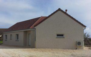 Livraison d'une construction neuve Bourgogne Bâtir à Guerfand 1