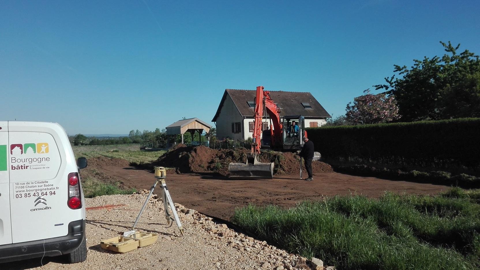 Le Constructeur De Bourgogne démarrage maison individuelle bourgogne bâtir saint maurice