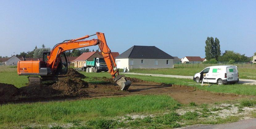 Démarrage chantier maison neuve Bourgogne Bâtir à Gergy
