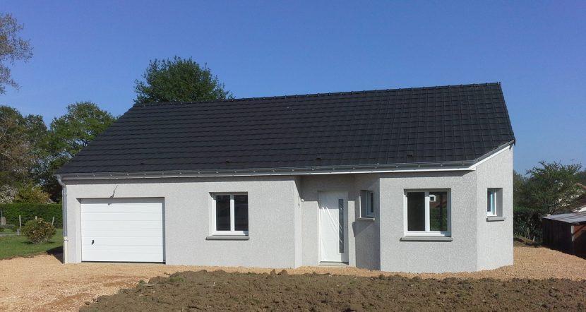 Livraison d'une construction neuve Bourgogne Bâtir à Saint Marcel