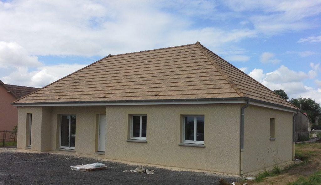 Livraison d'une construction neuve Bourgogne Bâtir à Lessard le National 1