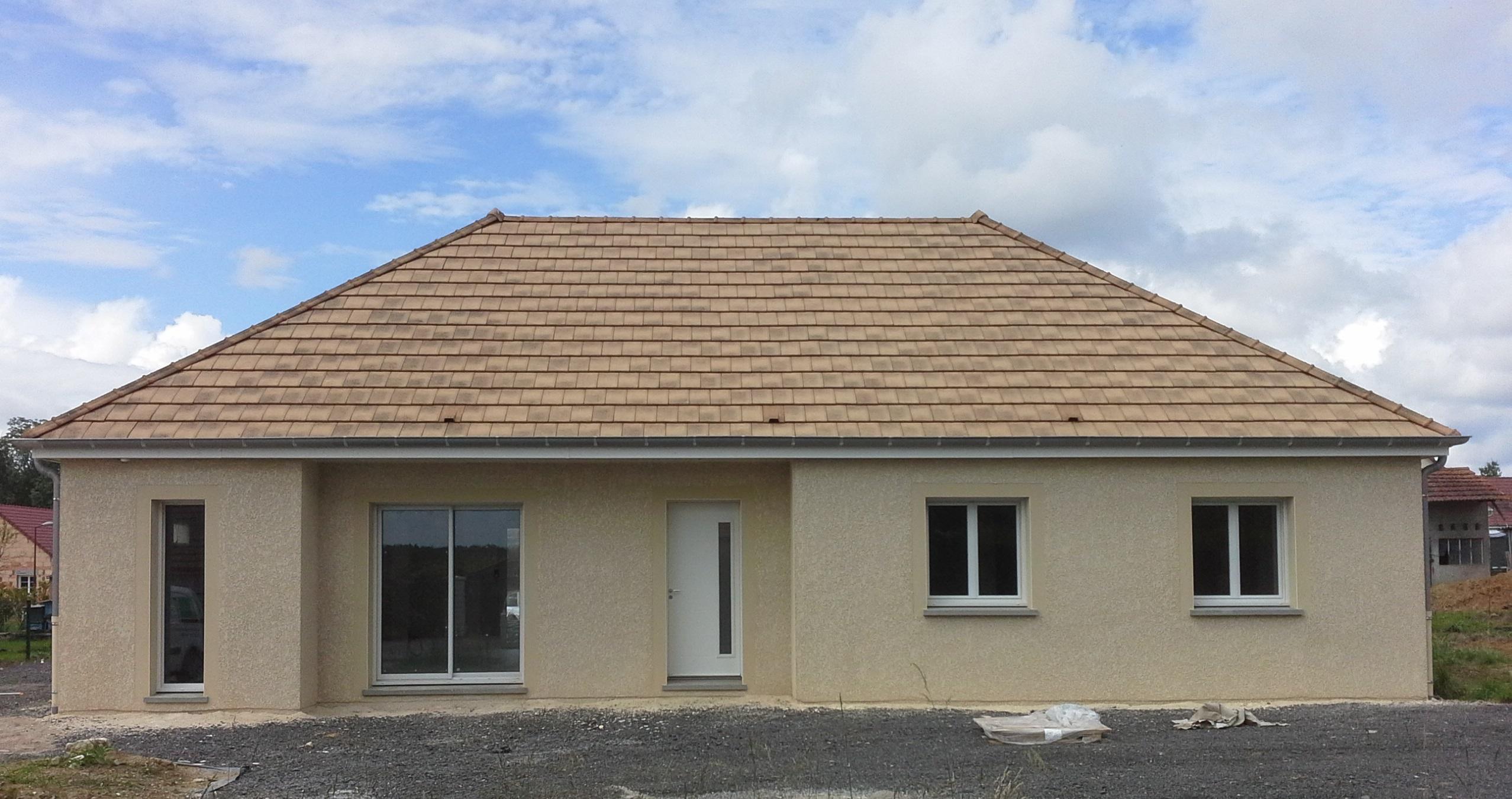 Livraison d'une construction neuve Bourgogne Bâtir à Lessard le National