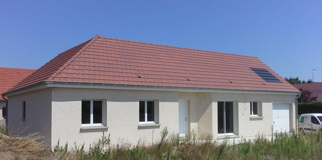 Livraison d'une construction neuve Bourgogne Bâtir à Ouroux sur Saône 2