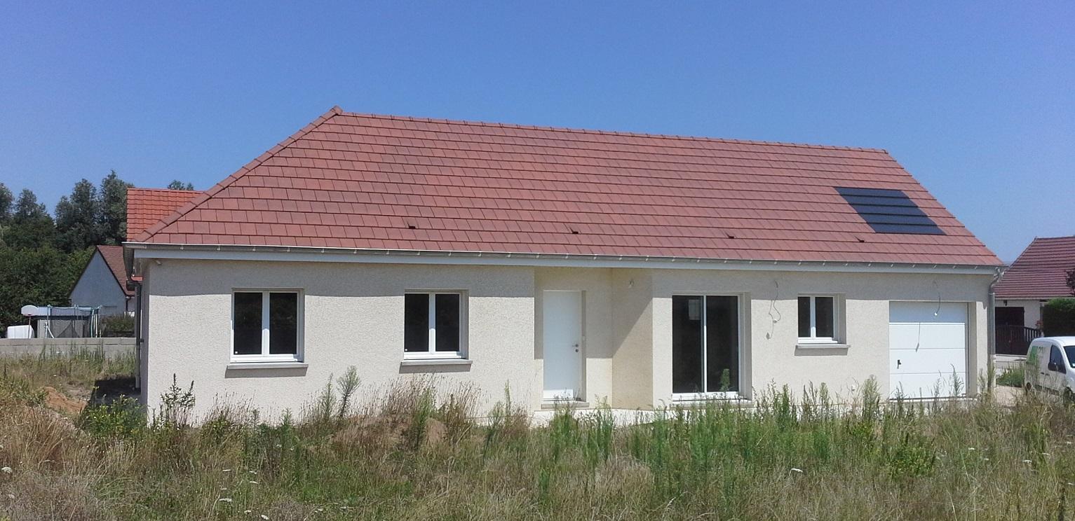 Livraison d'une construction neuve Bourgogne Bâtir à Ouroux sur Saône