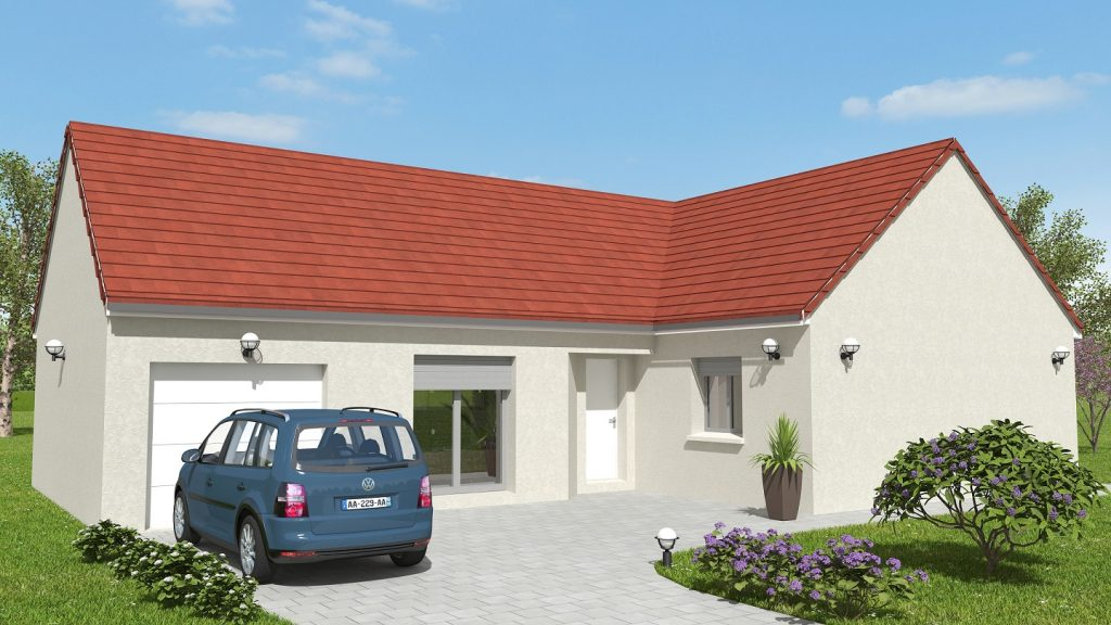 Visuel Démarrage chantier maison neuve Bourgogne Bâtir à Epervans