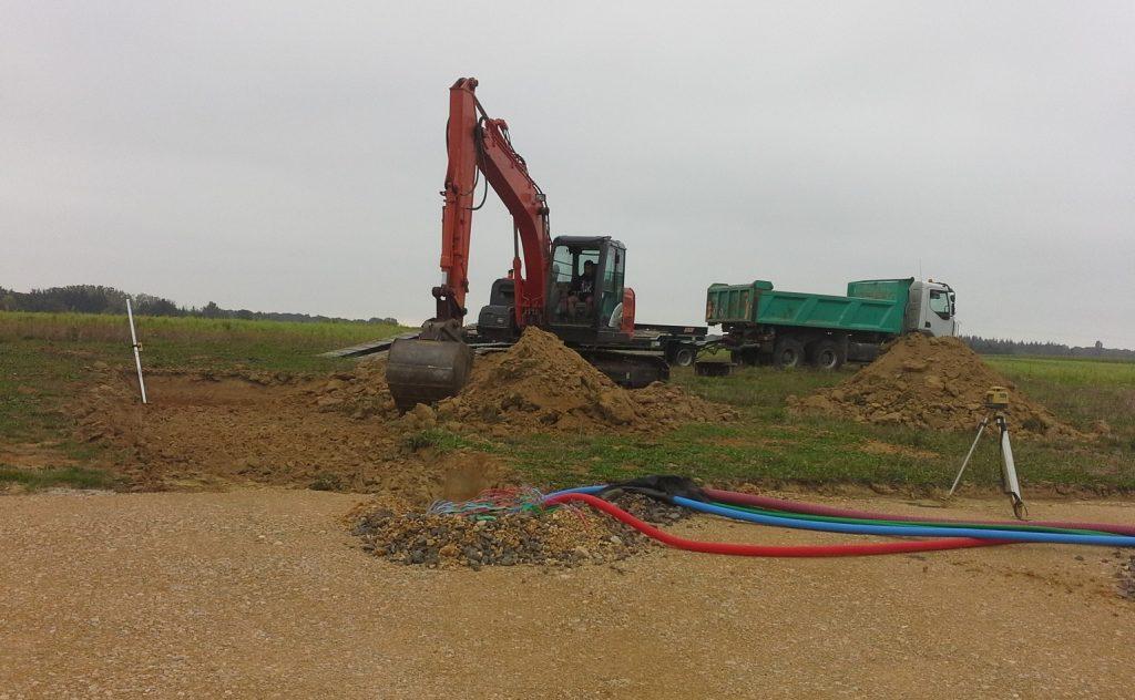 Démarrage chantier maison neuve Bourgogne Bâtir à Baudrières