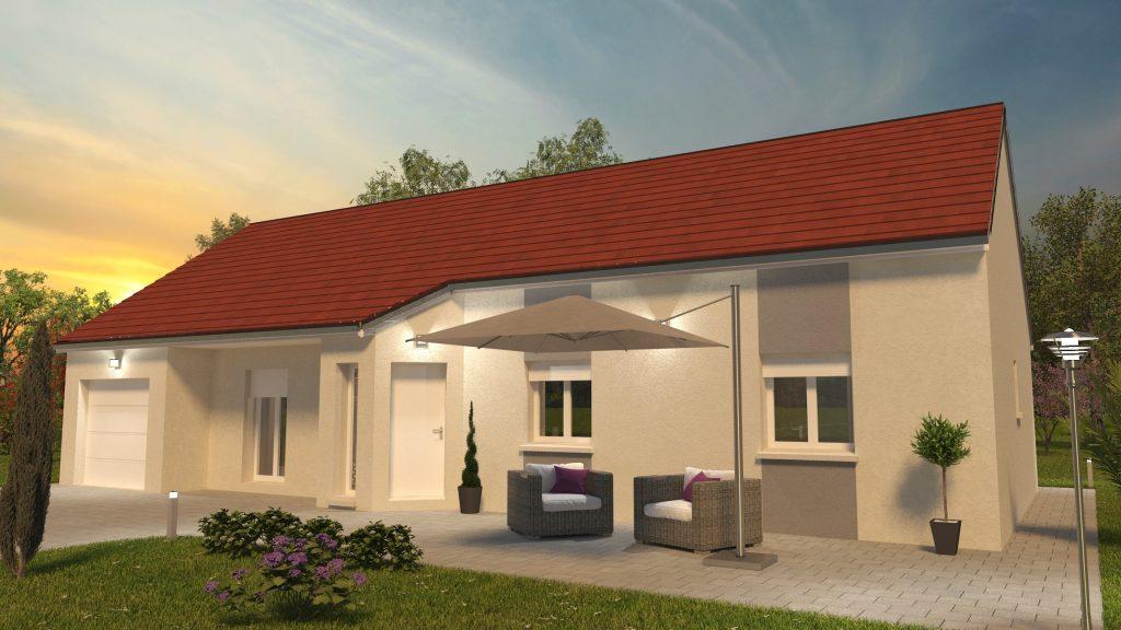 Démarrage chantier maison neuve Bourgogne Bâtir 110m² à Baudrières