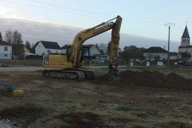 Démarrage chantier maison neuve Bourgogne Bâtir à Virey le Grand