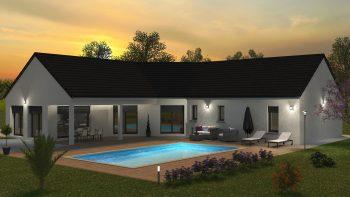 Bourgogne Bâtir constructeur de maison individuelle Chalon sur Saône 157m²