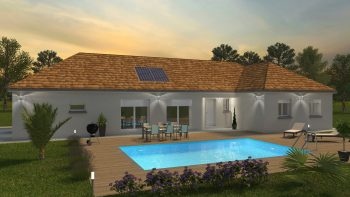 Bourgogne Bâtir coucher de soleil 122m²