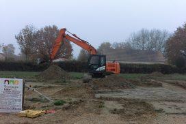 Démarrage chantier maison neuve Bourgogne Bâtir à Granges