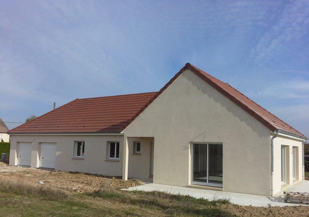 Livraison d'une construction neuve Bourgogne Bâtir à Oslon proche Chalon sur Saône