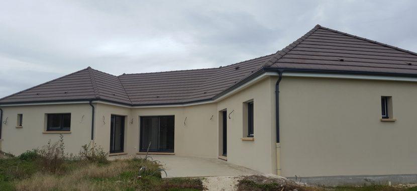 Livraison d'une construction neuve Bourgogne Bâtir à Saint Martin en Bresse