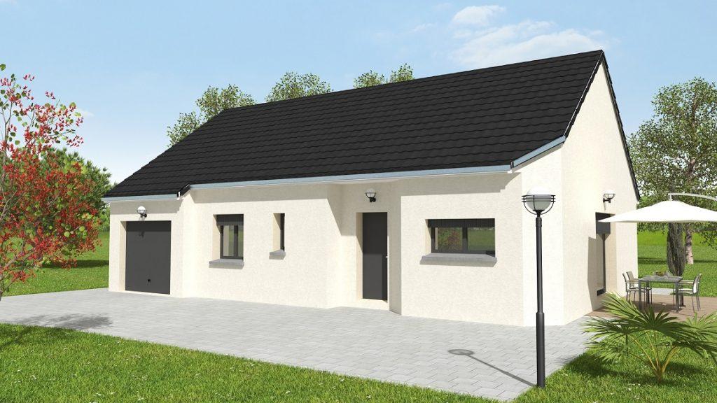 Visuel maison neuve en Bresse à La Frette par Bourgogne Batir