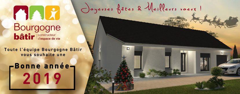 Bonne année 2019 - de toute l'équipe Bourgogne Bâtir Chalon sur Saône
