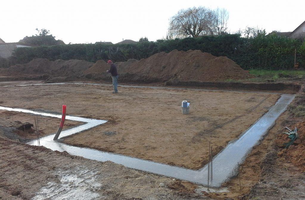 Démarrage chantier maison neuve Bourgogne Bâtir à Saint Marcel 2