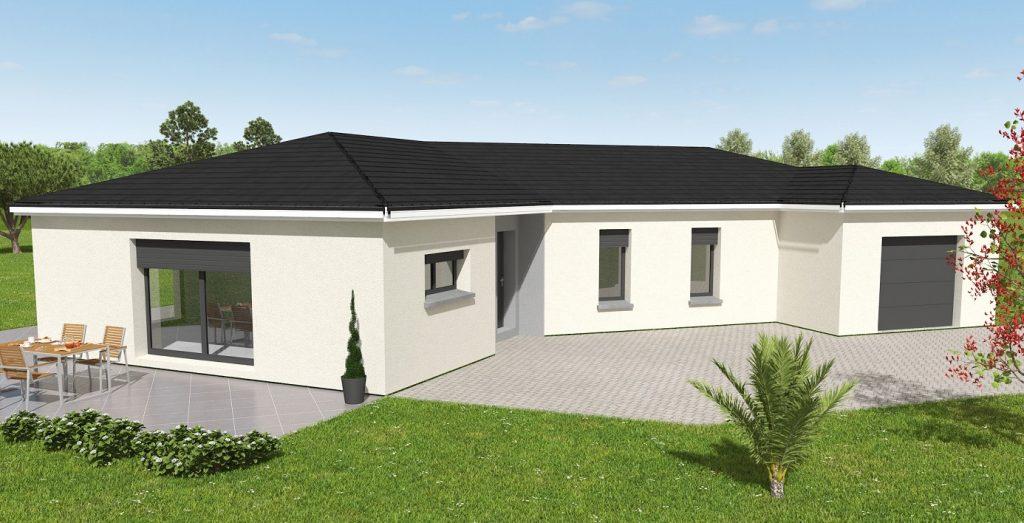 Démarrage chantier maison neuve Bourgogne Bâtir à Saint Marcel 3