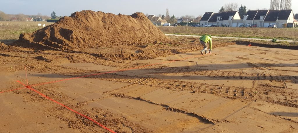 Démarrage chantier maison neuve Bourgogne Bâtir à Sassenay 1