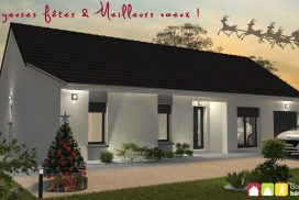 Joyeux Noël - bourgogne bâtir Saône et Loire Chalon sur Saône