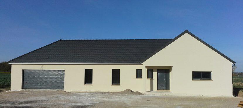 Livraison d'une construction neuve Bourgogne Bâtir à Chevigny en Valière en côte d'or entre Beaune et Chalon sur Saône