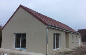 Livraison d'une construction neuve Bourgogne Bâtir à Saint Maurice en Rivière