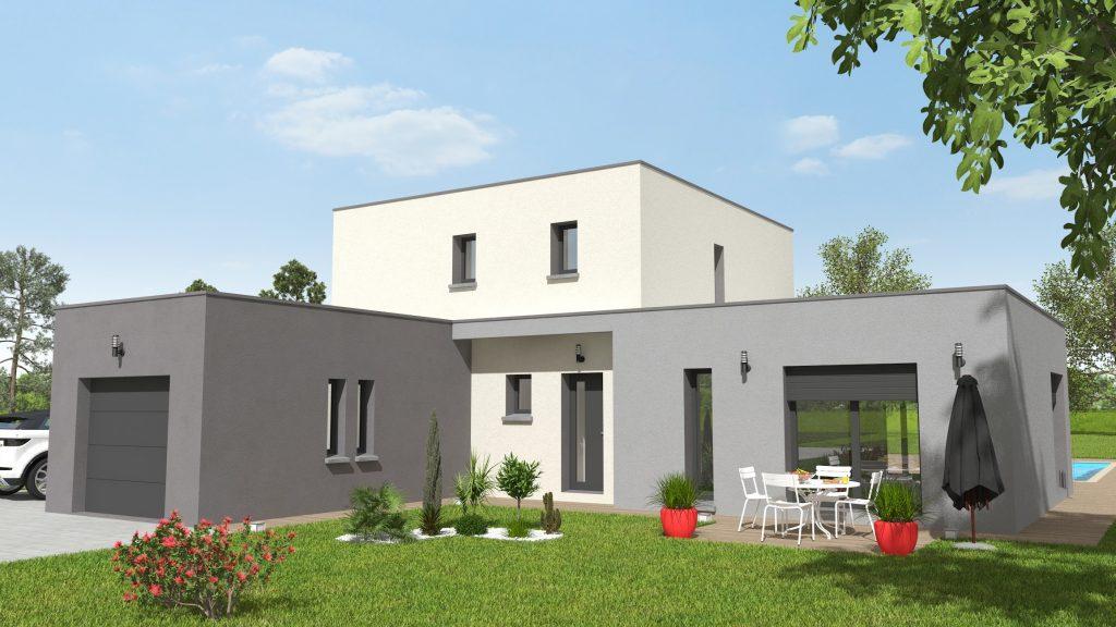 Vogue 4 chambres - plan maison bourgogne bâtir Saône et Loire Chalon sur Saône