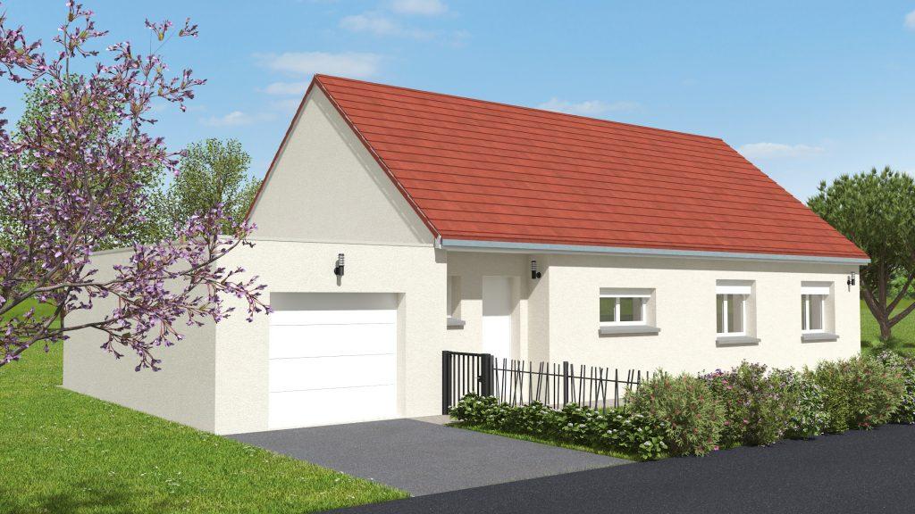 Démarrage chantier maison neuve Bourgogne Bâtir à Chalon sur Saône 90m²