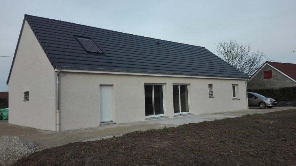Livraison d'une construction neuve Bourgogne Bâtir à Gergy