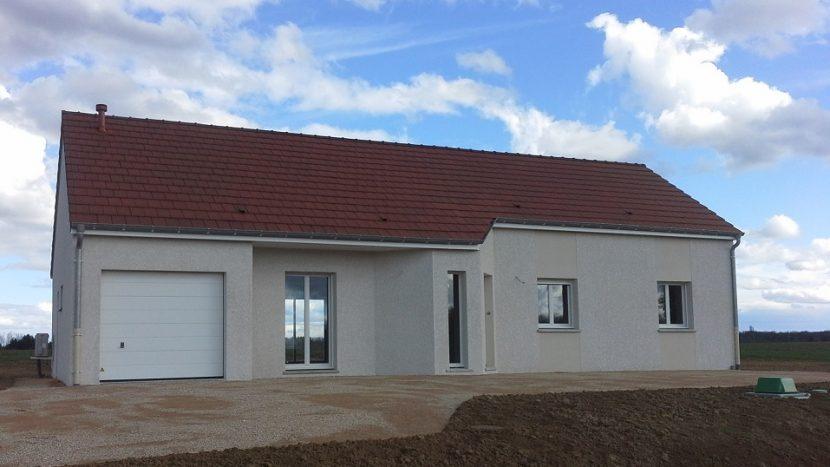 Livraison d'une construction neuve Bourgogne Bâtir à Baudrières
