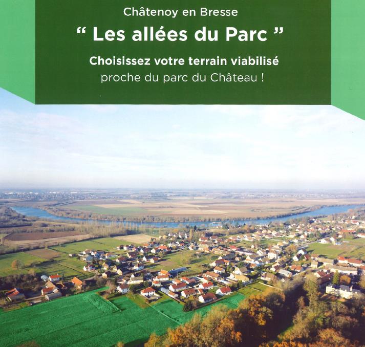 Visuel lotissement Châtenoy en Bresse avec Bourgogne Bâtir, constructeur Chalonnais