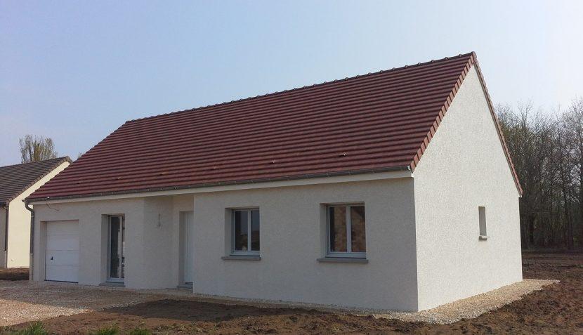 Livraison d'une construction neuve Bourgogne Bâtir à Epervans 1