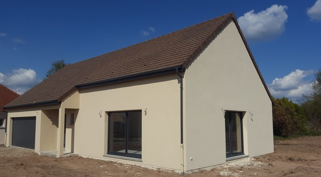 Livraison d'une construction neuve Bourgogne Bâtir à Epervans